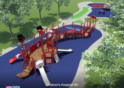 Inclusive Playground: Nutter Park at Children's Mercy Hospital