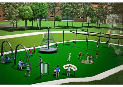 Inclusive Playground and Splash Park: Raymore Missouri