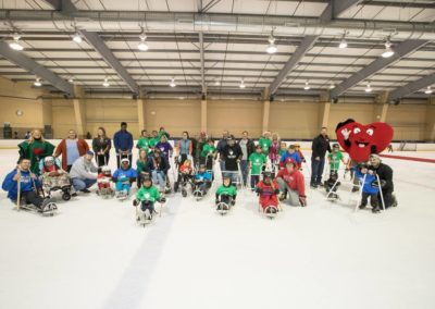 Adaptive Hockey and Skating