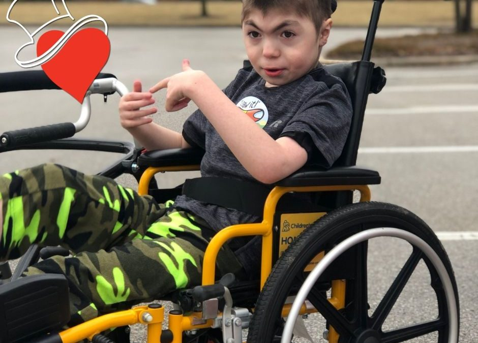 Meet the Kids – Variety KC helps David to Walk