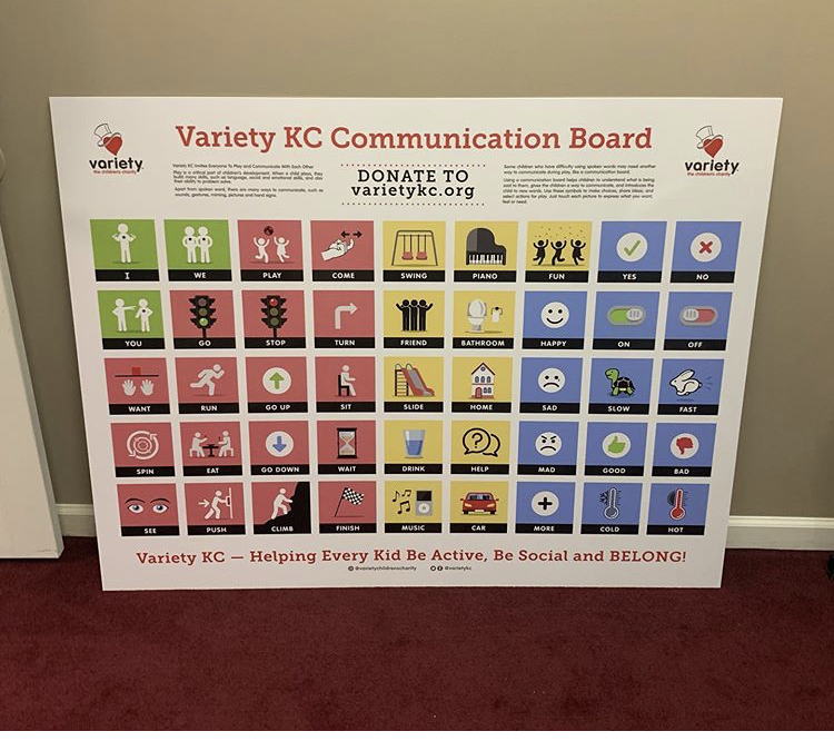 Variety KC Communication Boards