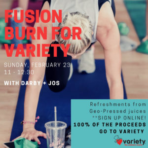 Fusion Fitness Burn for Variety