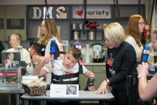 Variety KC Harness Cafés at Liberty Middle Schools