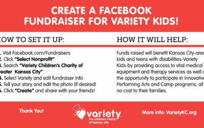 How to Create a Facebook Birthday Fundraiser helping Variety Kids!